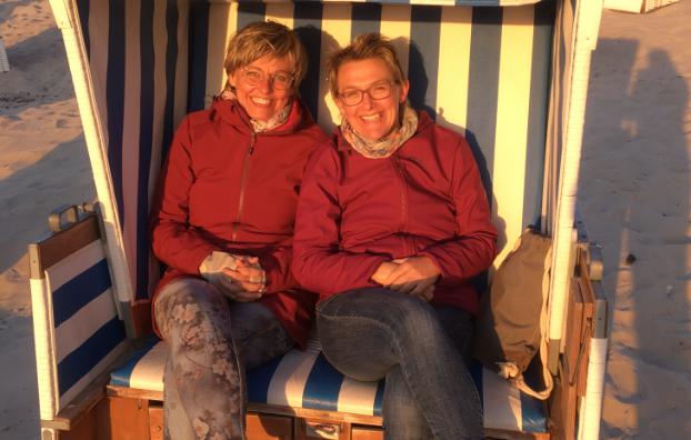 Ruth Lüttel und Andrea Thalmann